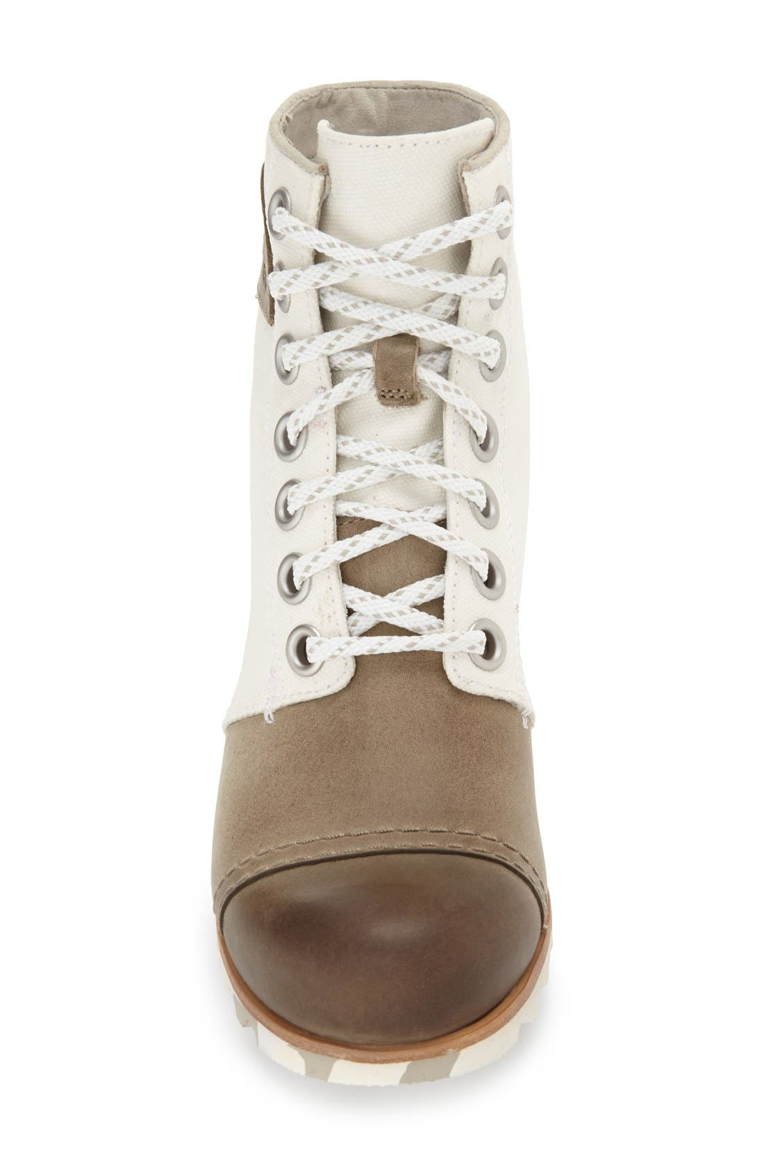 Alternate Image 3  - SOREL '1964 Premium Canvas' Waterproof Wedge Bootie (Women)