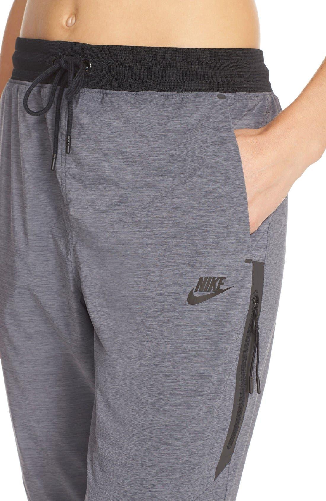 Alternate Image 4  - Nike Bonded Woven Pants