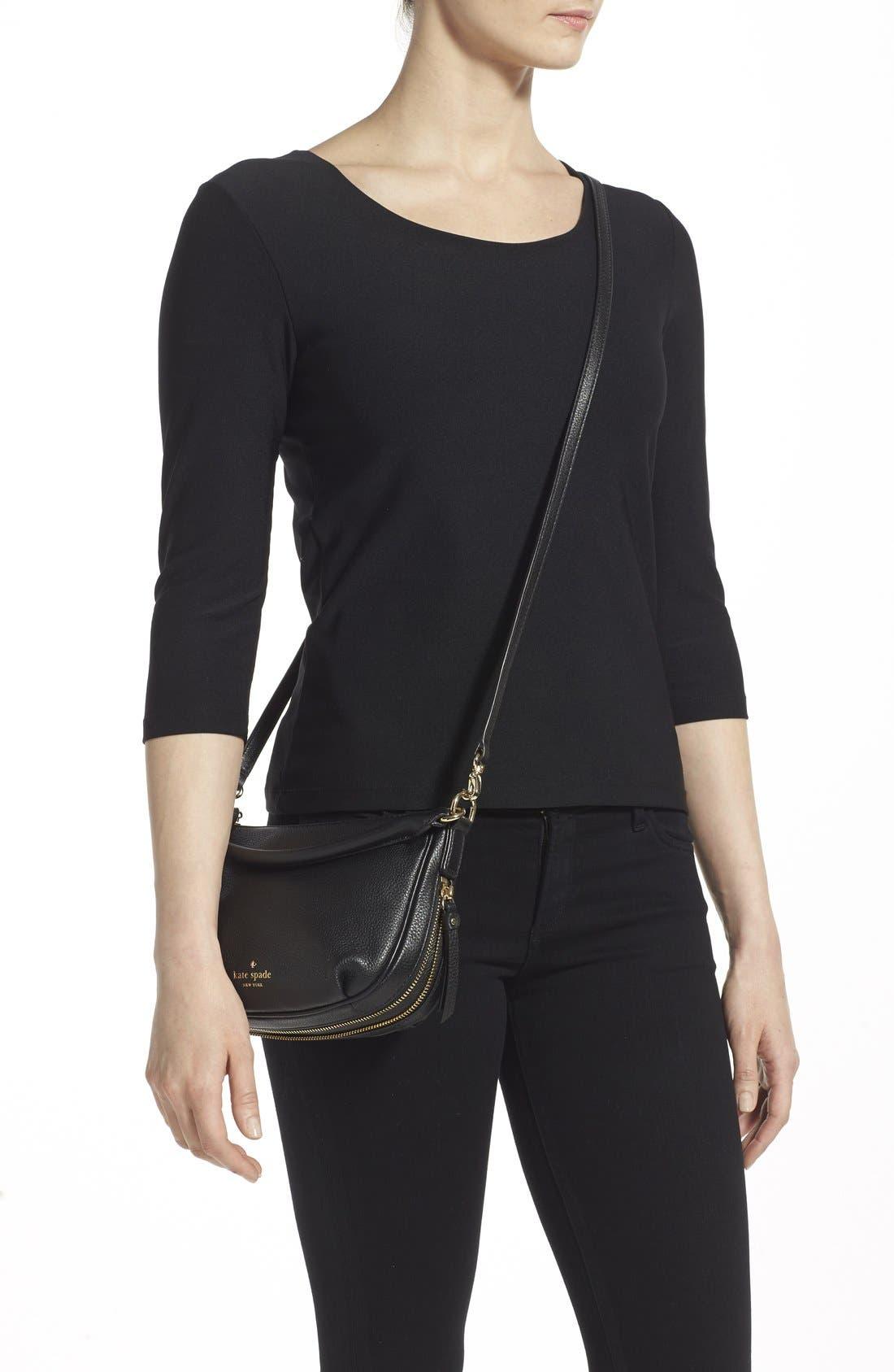 Alternate Image 2  - kate spade new york 'cobble hill - mini ella' leather crossbody bag