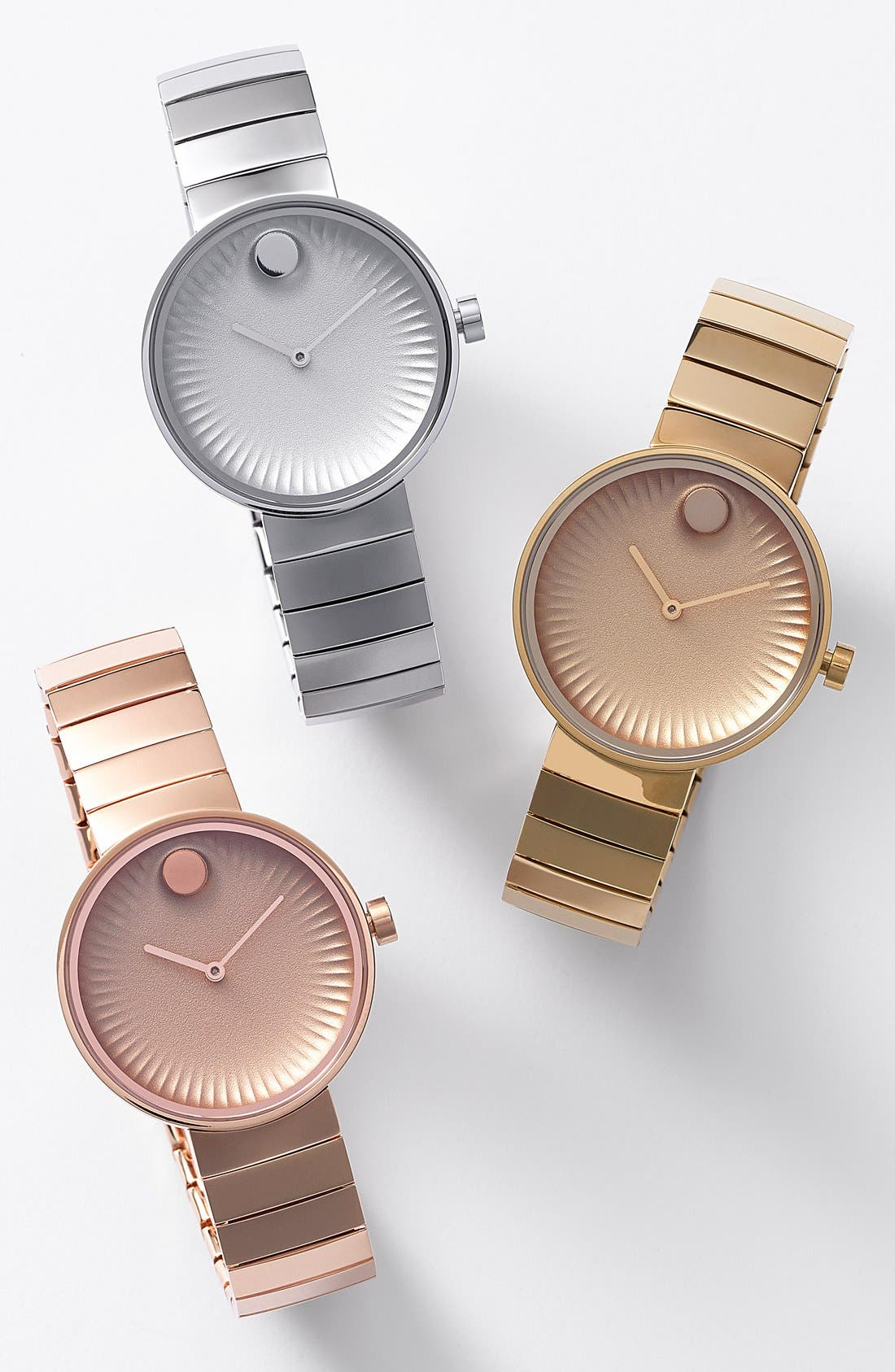 Alternate Image 4  - Movado 'Edge' Bracelet Watch, 34mm