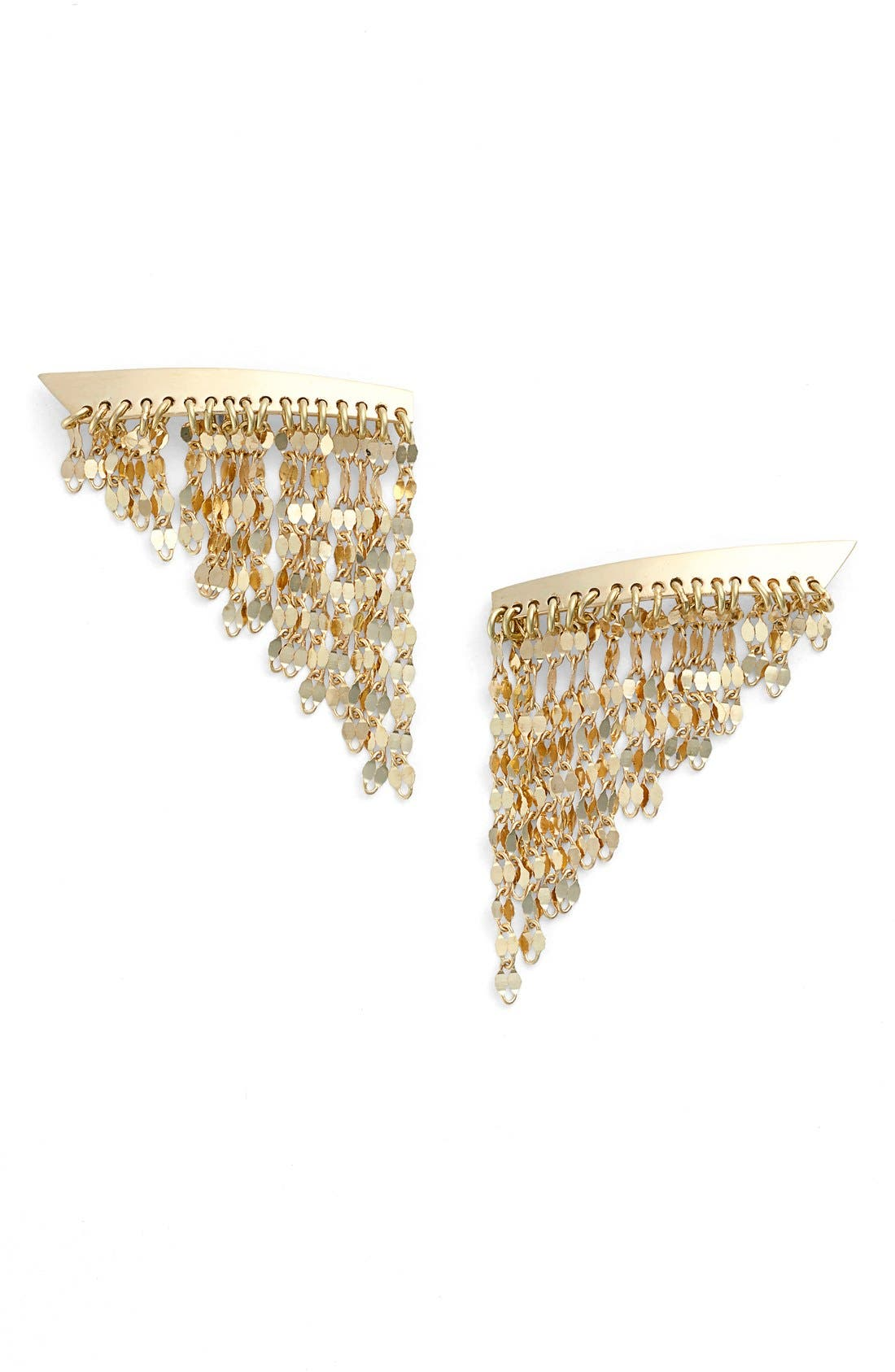 Alternate Image 1 Selected - Lana Jewelry Small Fringe Drop Earrings