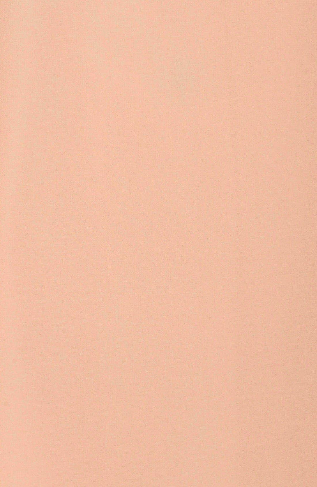 Alternate Image 6  - Chelsea28 Lace Trim Chiffon Shift Dress