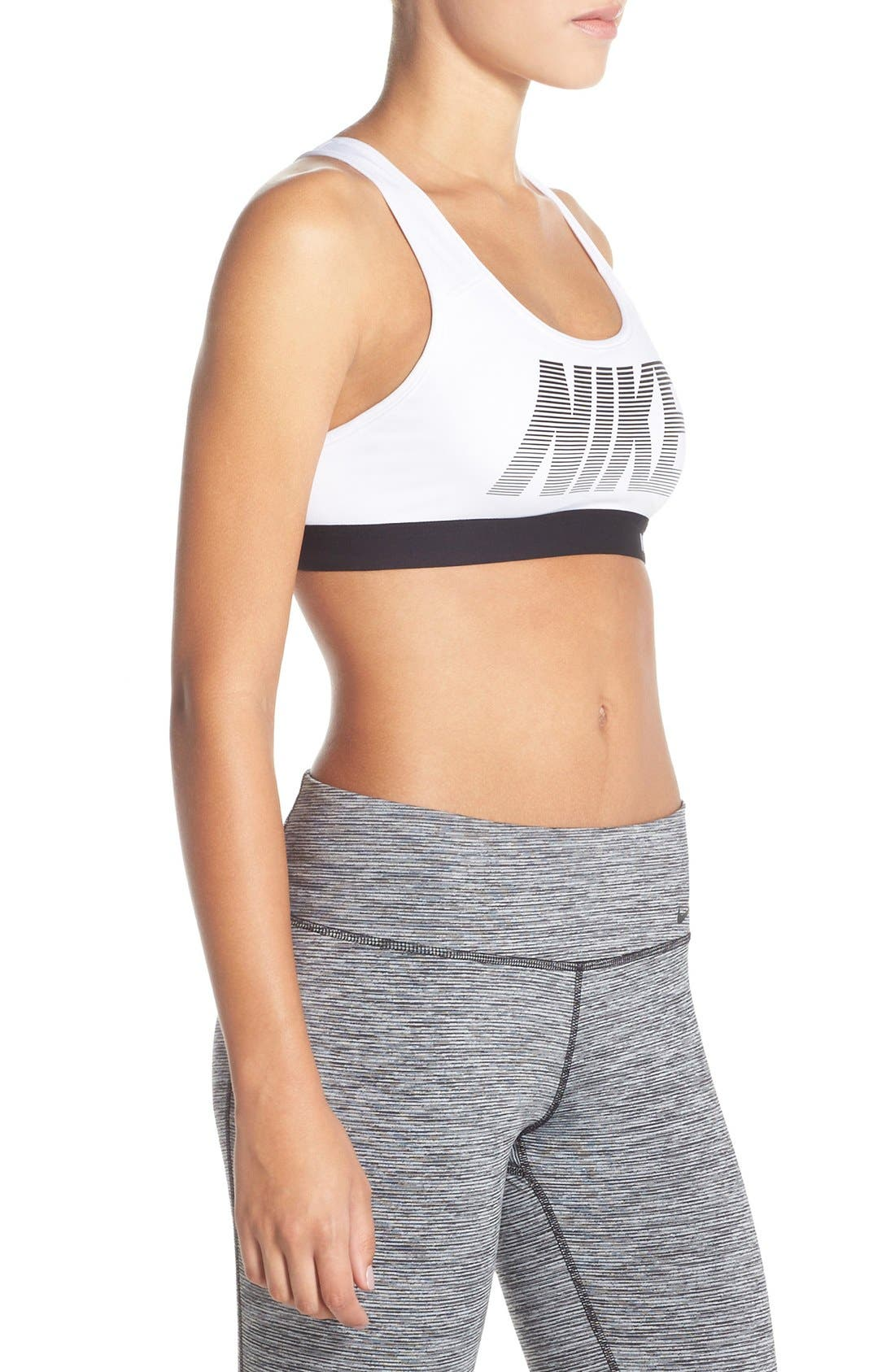 Alternate Image 3  - Nike 'Pro - Classic' Dri-FIT Padded Sports Bra