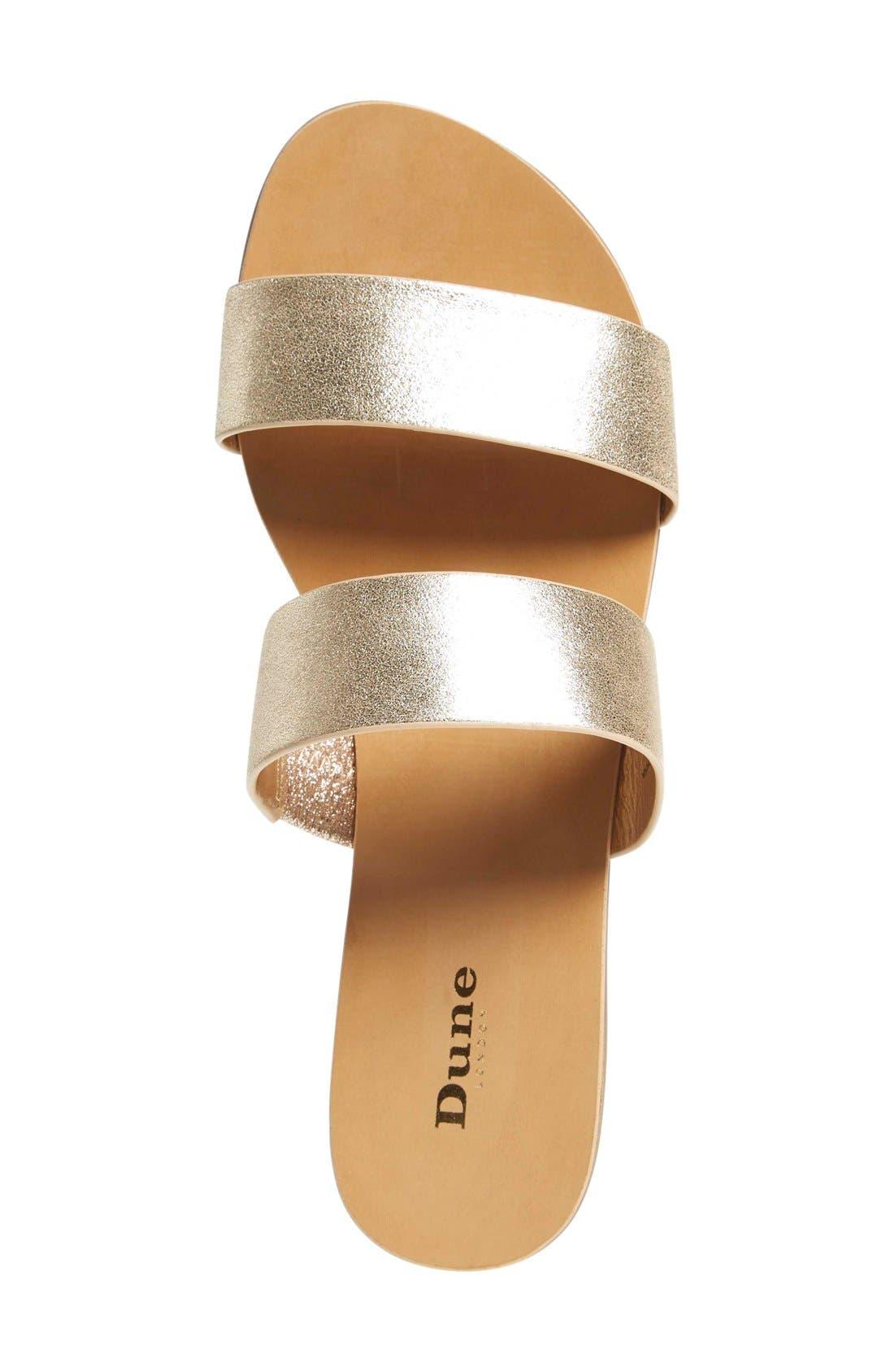 Alternate Image 3  - Dune London 'Nesha' Flat Slide Sandal (Women)
