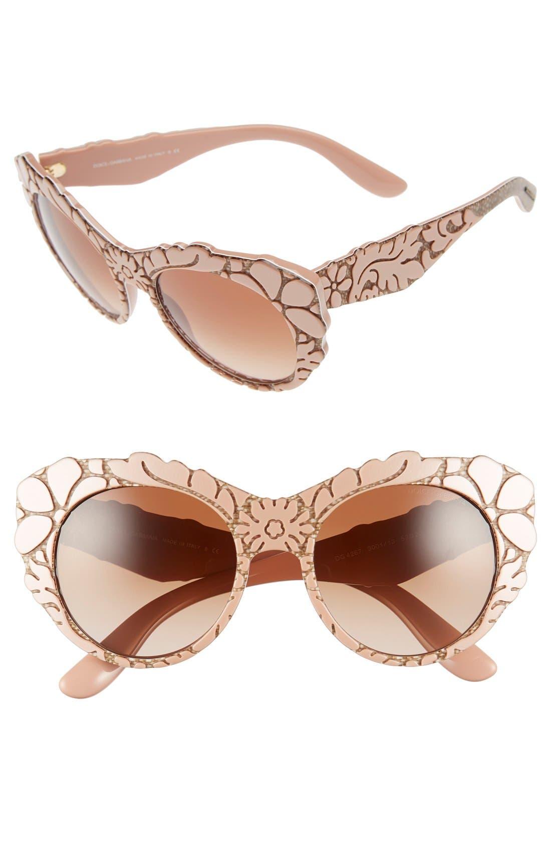 Alternate Image 1 Selected - Dolce&Gabbana 53mm Sunglasses