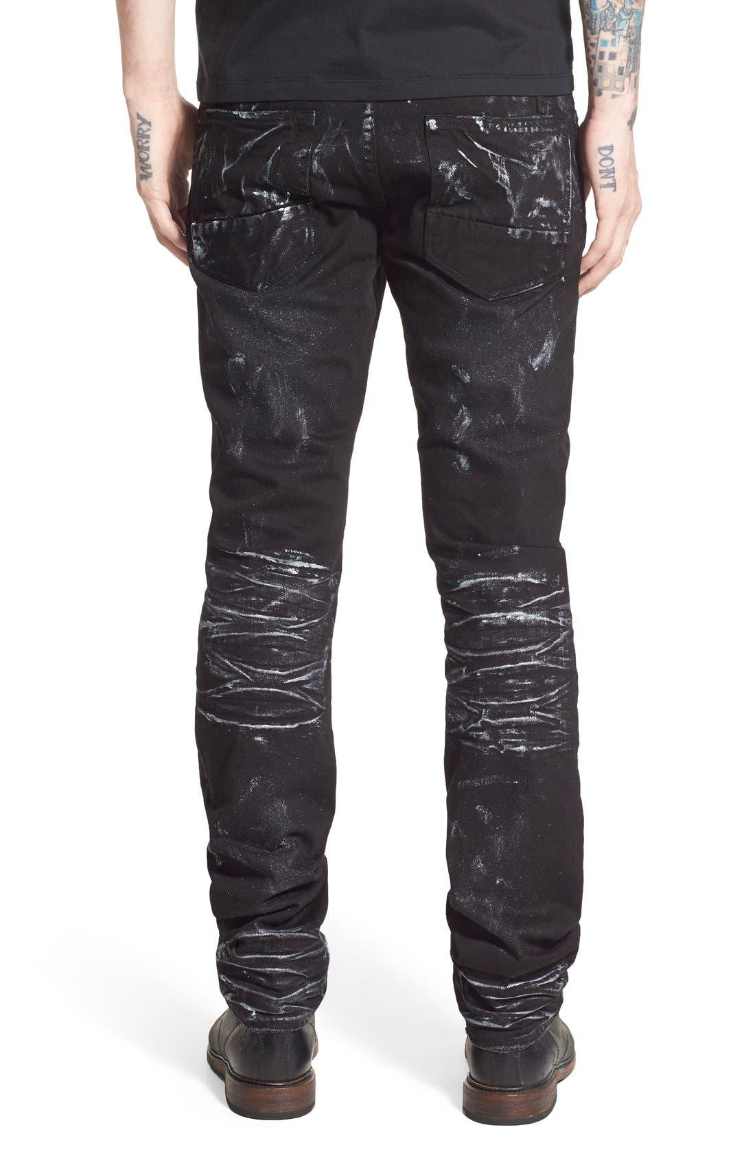 Alternate Image 2  - PRPS 'Demon' Slim Straight Leg Jeans (Mandrill)