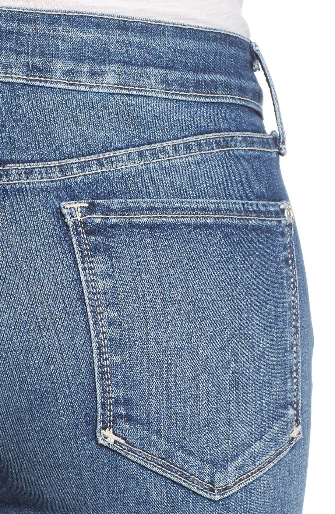 Alternate Image 4  - NYDJ 'Clarissa' Stretch Ankle Skinny Jeans (Heyburn) (Regular & Petite)