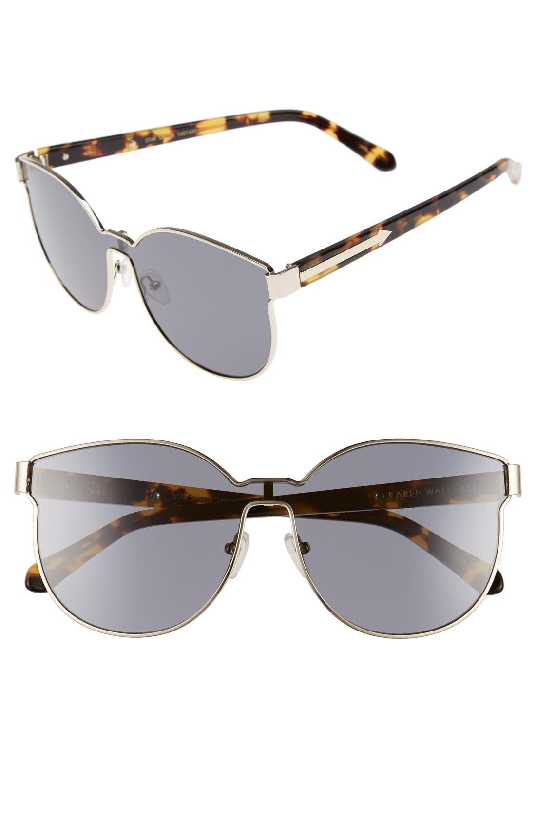 Karen Walker 'Star Sailor - Arrowed by Karen' 60mm Sunglasses