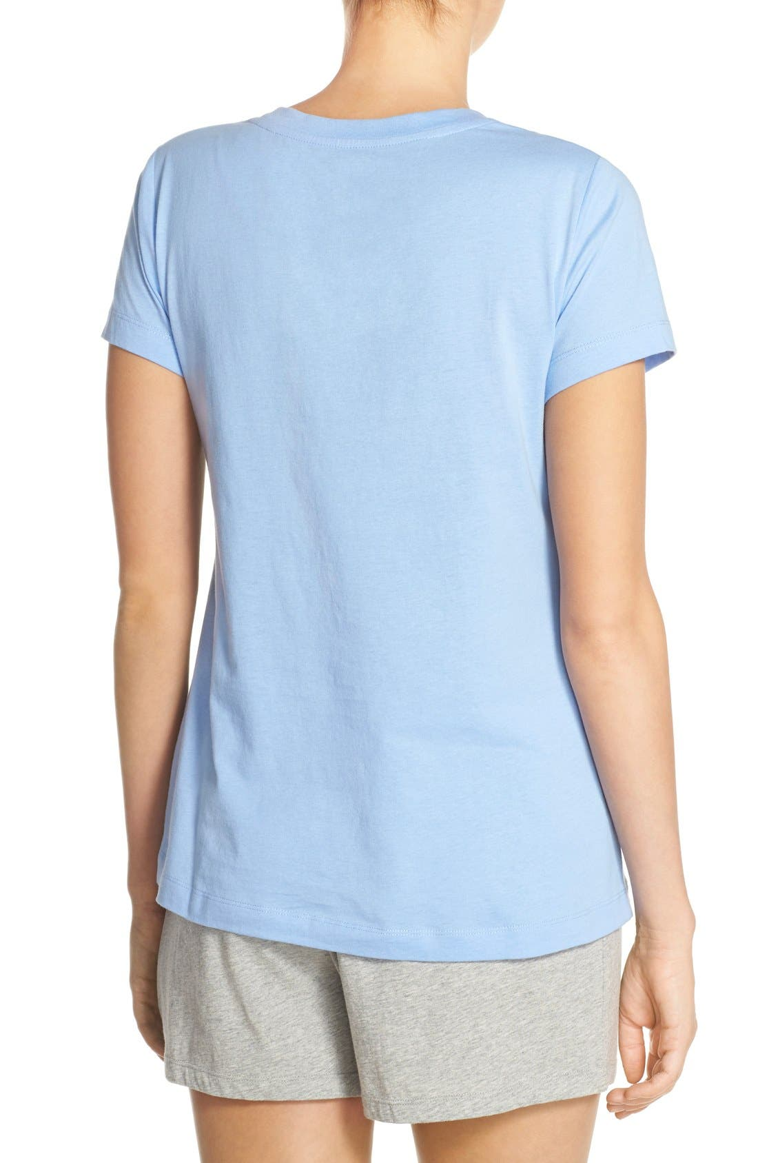 Alternate Image 2  - Lauren by Ralph Lauren Sleepwear Short Sleeve Sleep Tee