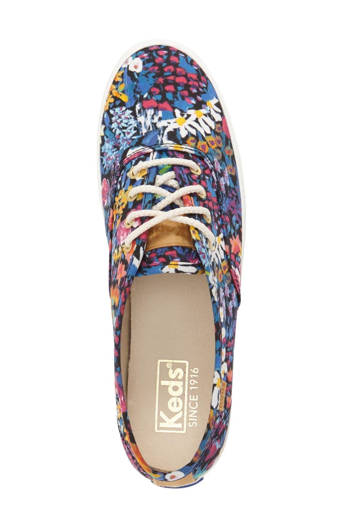 Alternate Image 3  - Keds® 'Champion - Floral' Sneaker (Women)