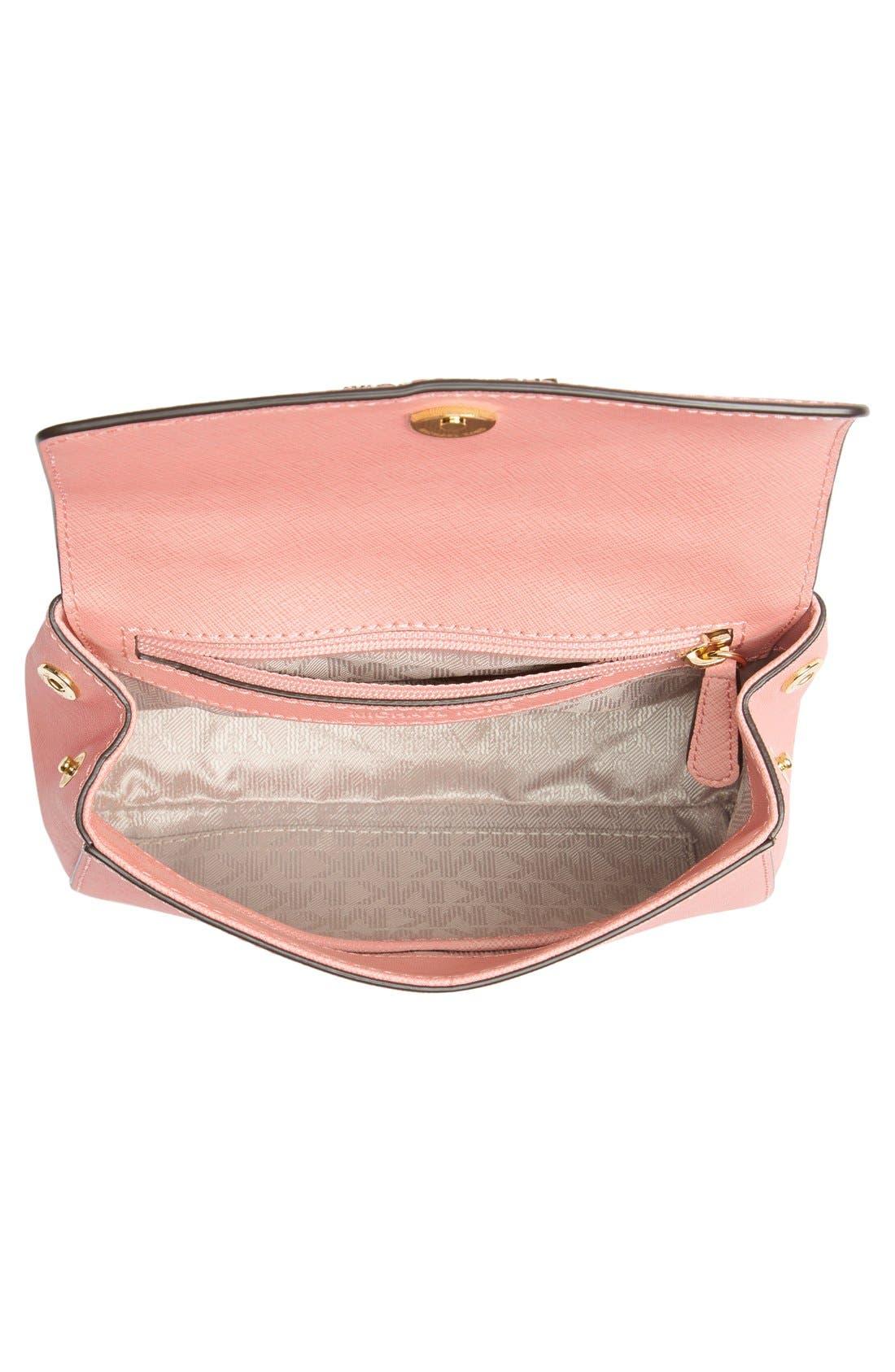 Alternate Image 4  - MICHAEL Michael Kors 'Extra Small Ava' Leather Crossbody Bag