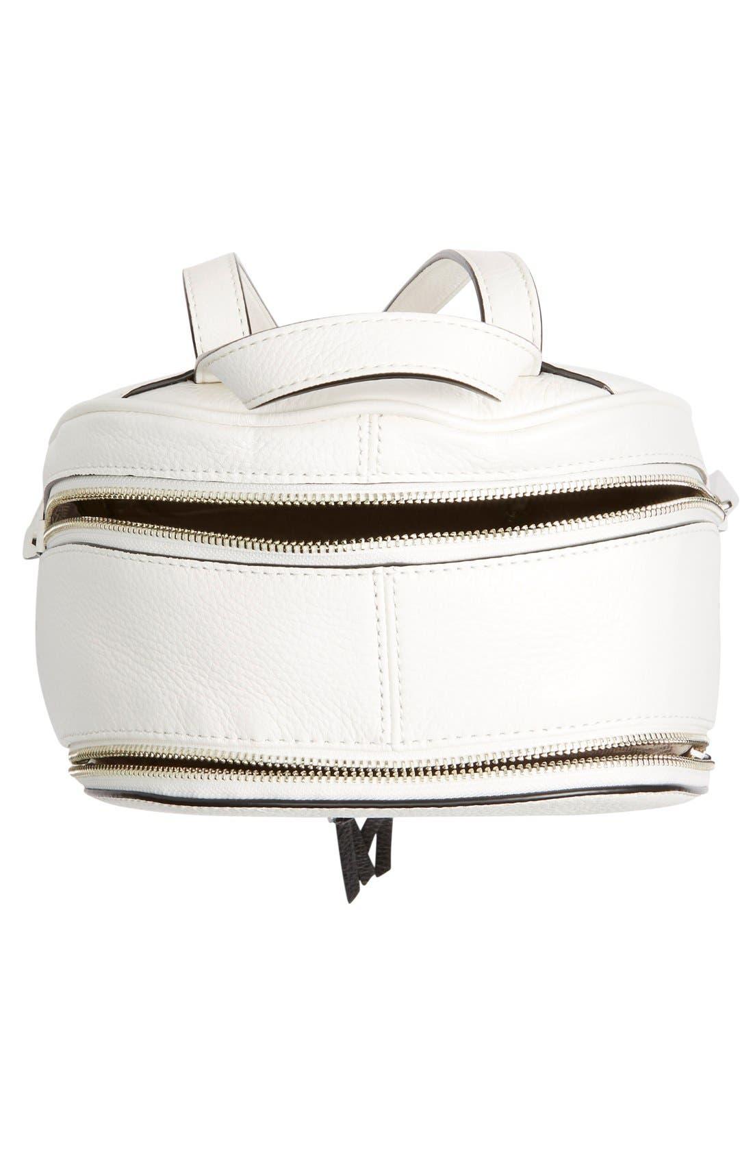 Alternate Image 4  - MICHAEL Michael Kors 'Small Rhea' Leather Backpack