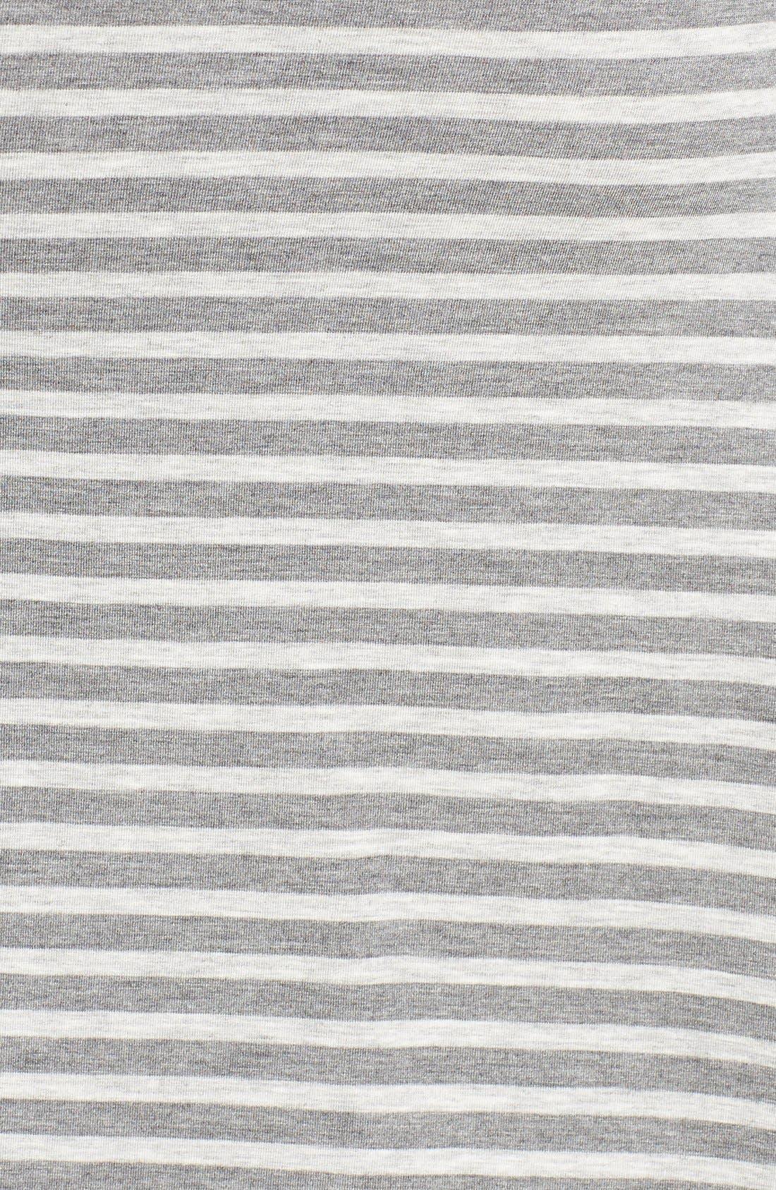 Alternate Image 5  - Caslon® 'Growover' Jersey T-Shirt Dress