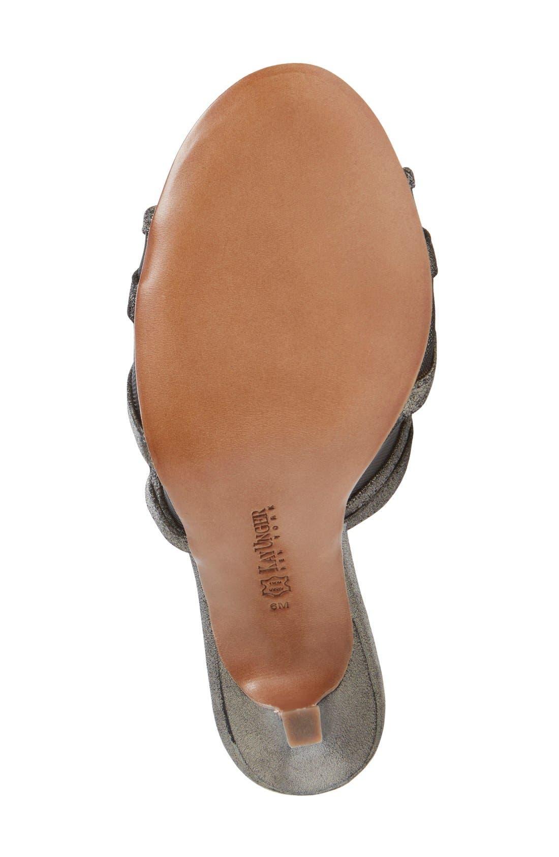 Alternate Image 4  - Kay Unger 'Aminah' Sandal (Women)