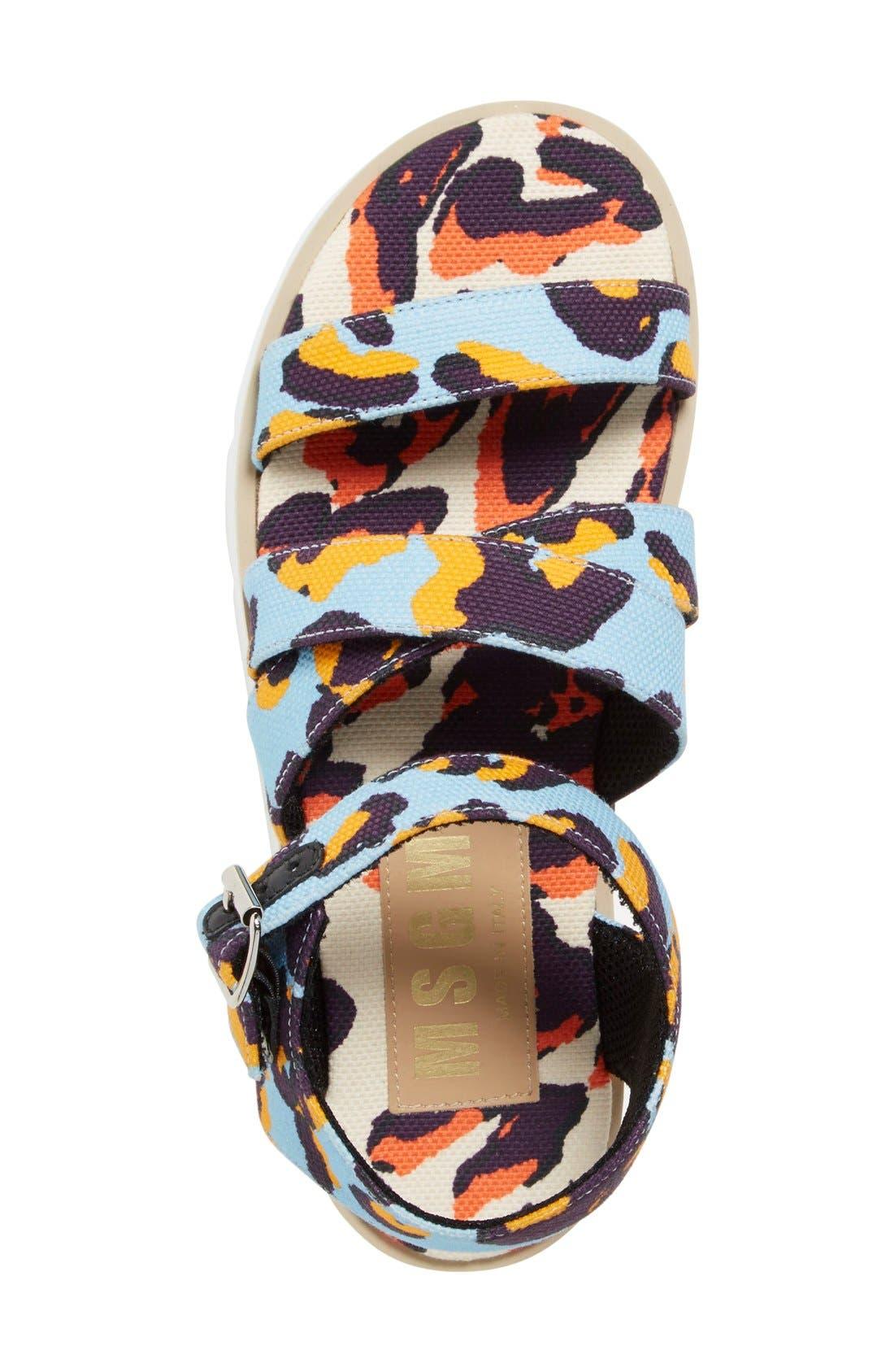 Alternate Image 3  - MSGM Platform Sandal (Women)