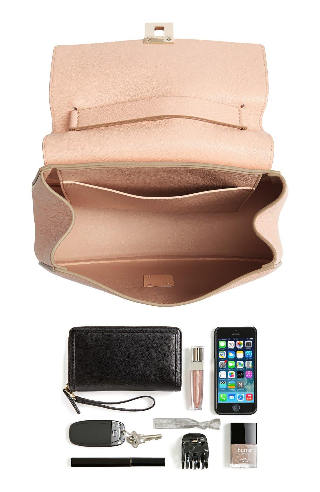 Alternate Image 7  - Chloé 'Small Drew' Goatskin Leather Shoulder Bag