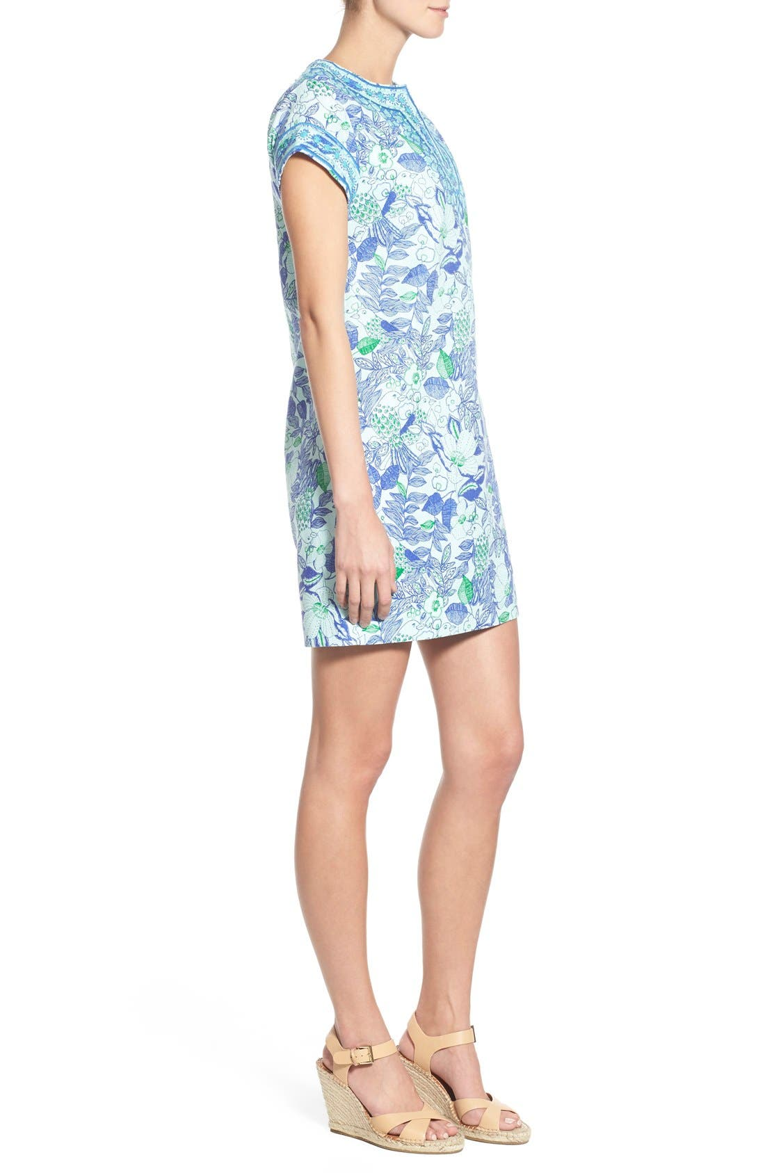 Alternate Image 3  - Vineyard Vines 'Cordia' Floral Print Tunic Dress