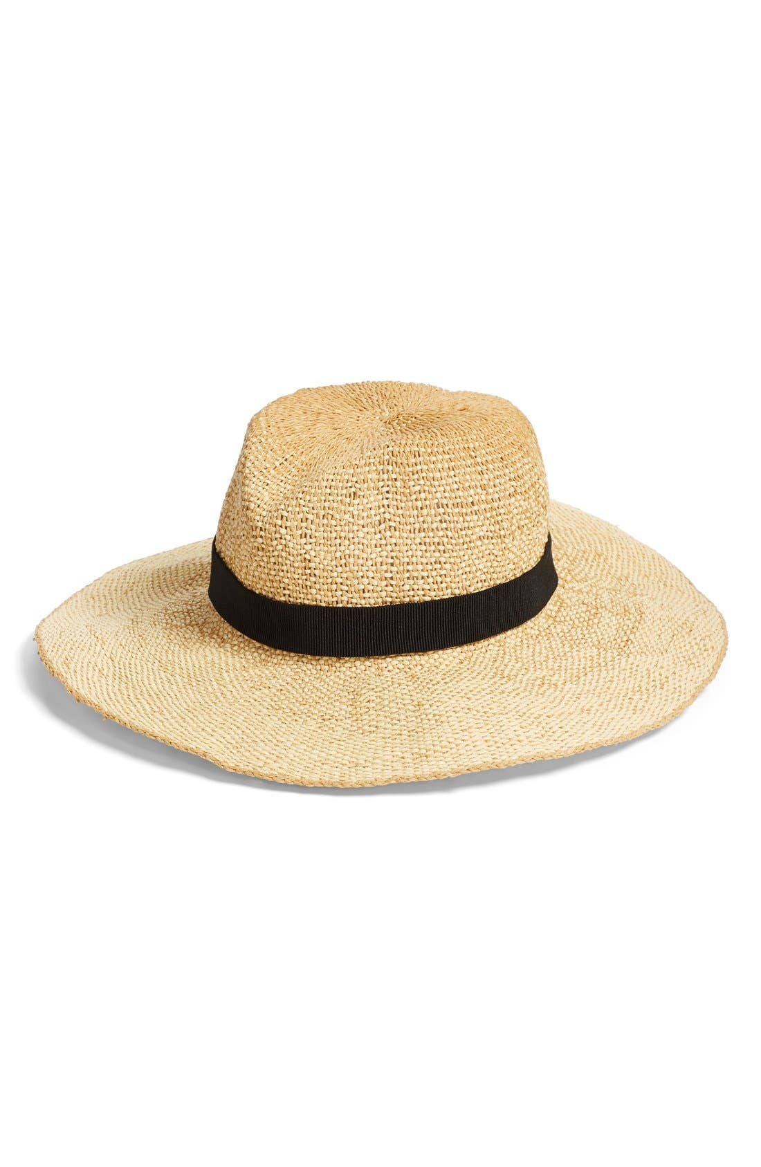 Main Image - Madewell Packable Straw Hat