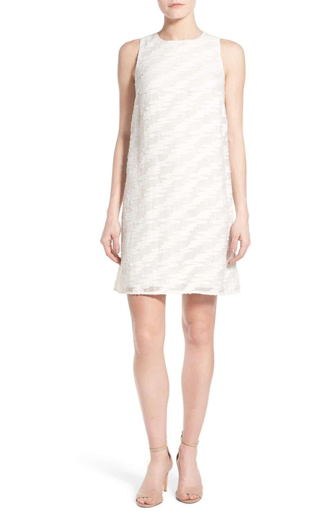Alternate Image 1 Selected - Halogen® Lace Detail Sheath Dress (Regular & Petite)