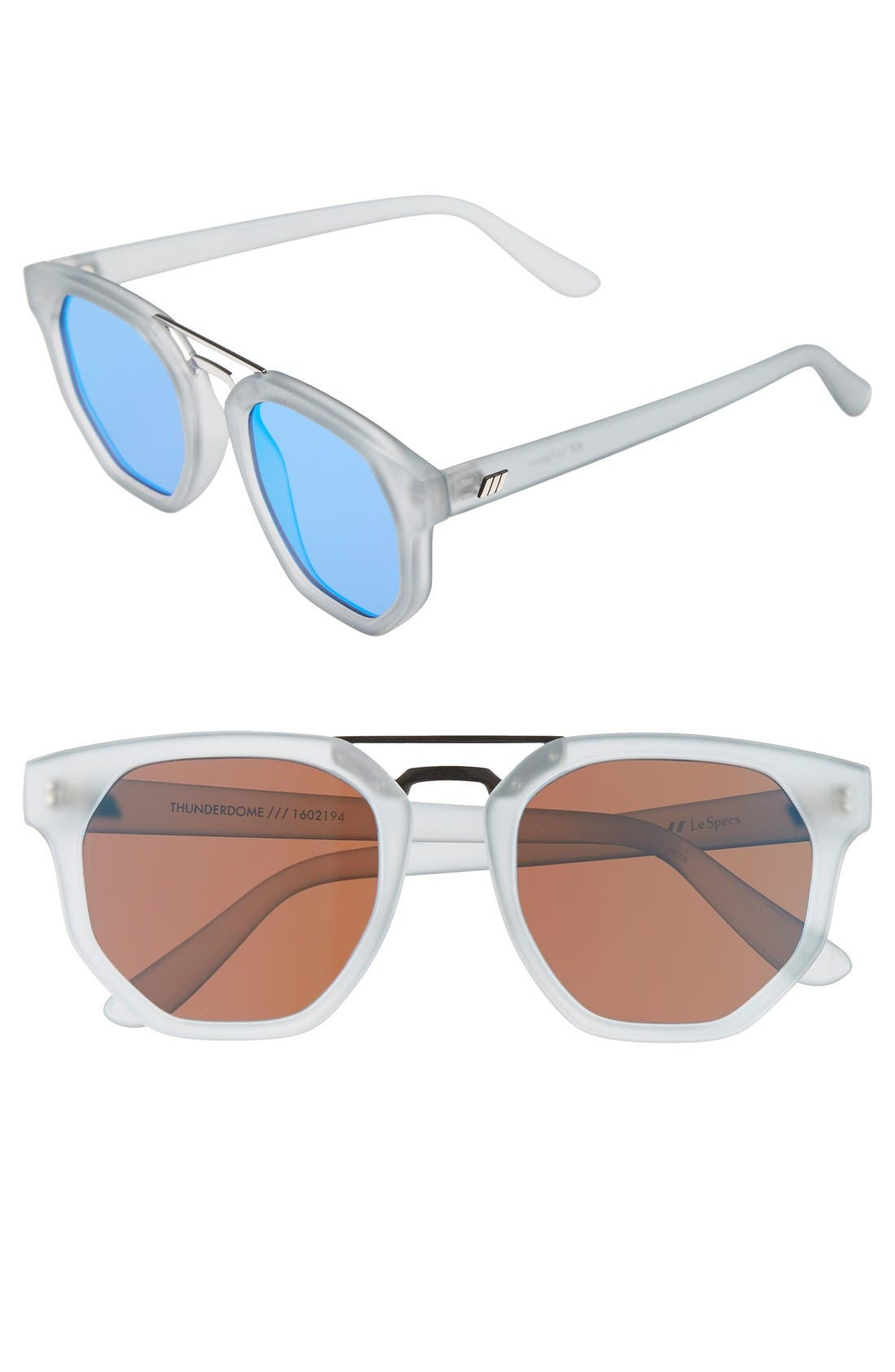 Alternate Image 1 Selected - Le Specs 'Thunderdome' 52mm Sunglasses