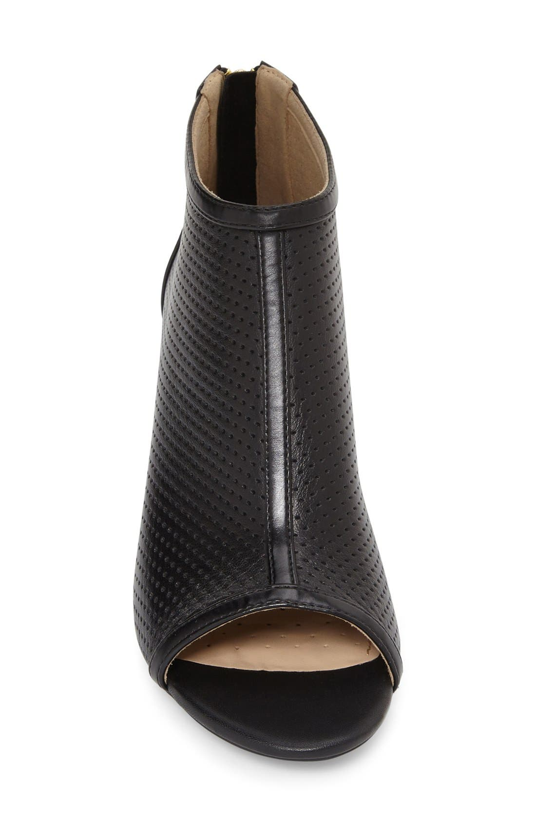 Alternate Image 3  - Geox 'Audie' Peep Toe Bootie (Women)