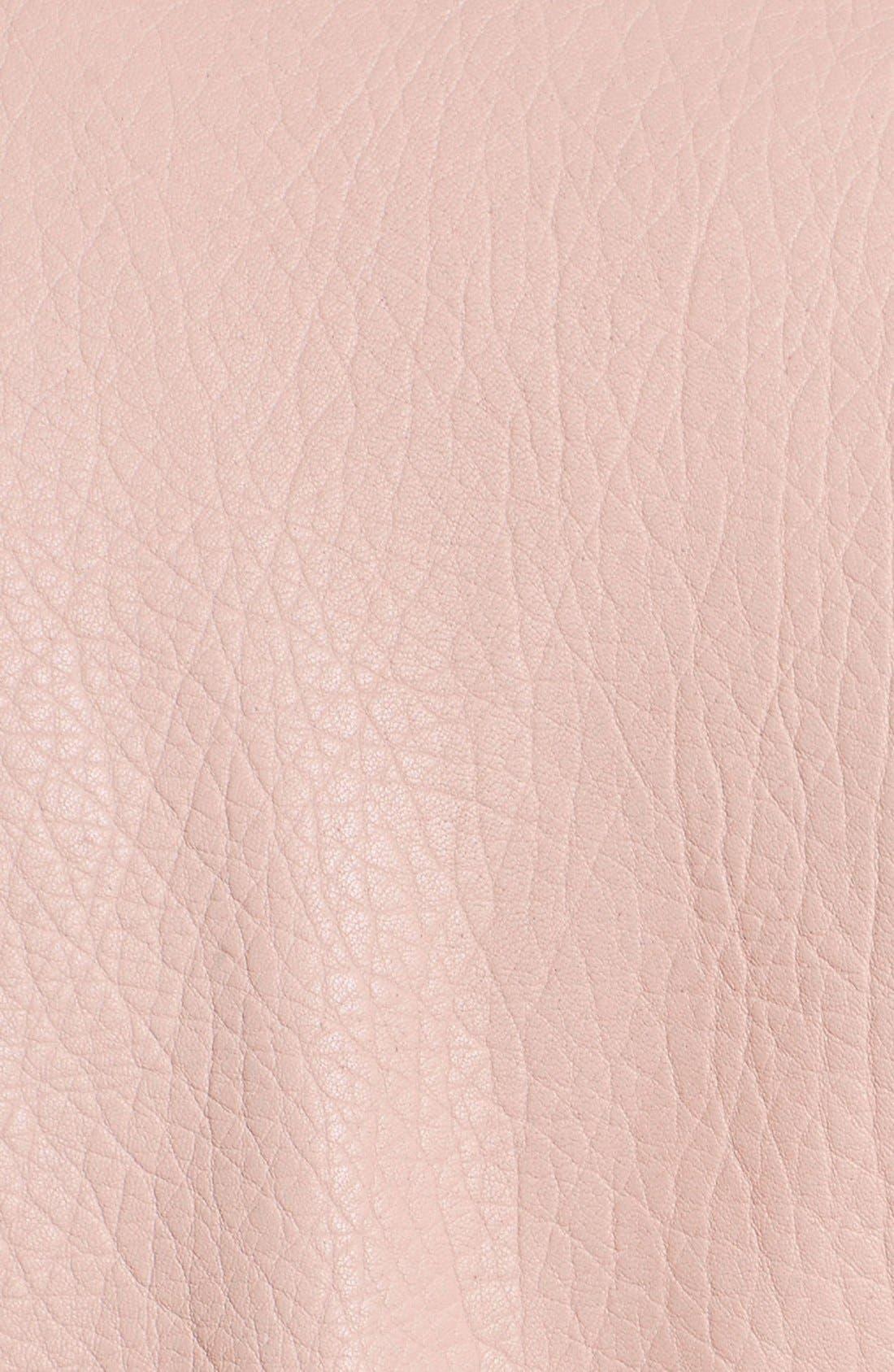 Alternate Image 5  - Rebecca Minkoff Pebble Leather Jacket