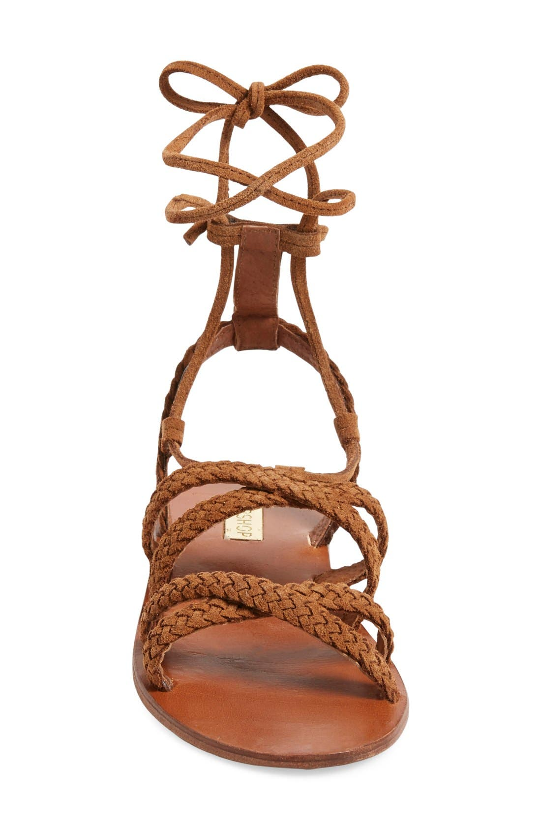 Alternate Image 3  - Topshop 'Farewell' Gladiator Sandals (Women)