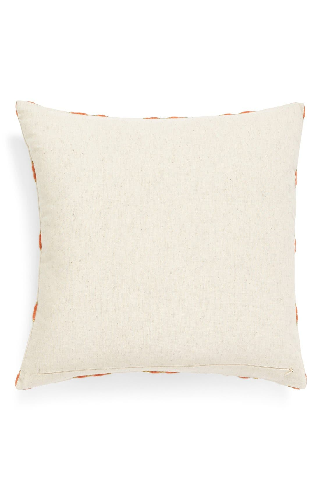Alternate Image 2  - Nordstrom at Home 'Velvet Trellis' Pillow