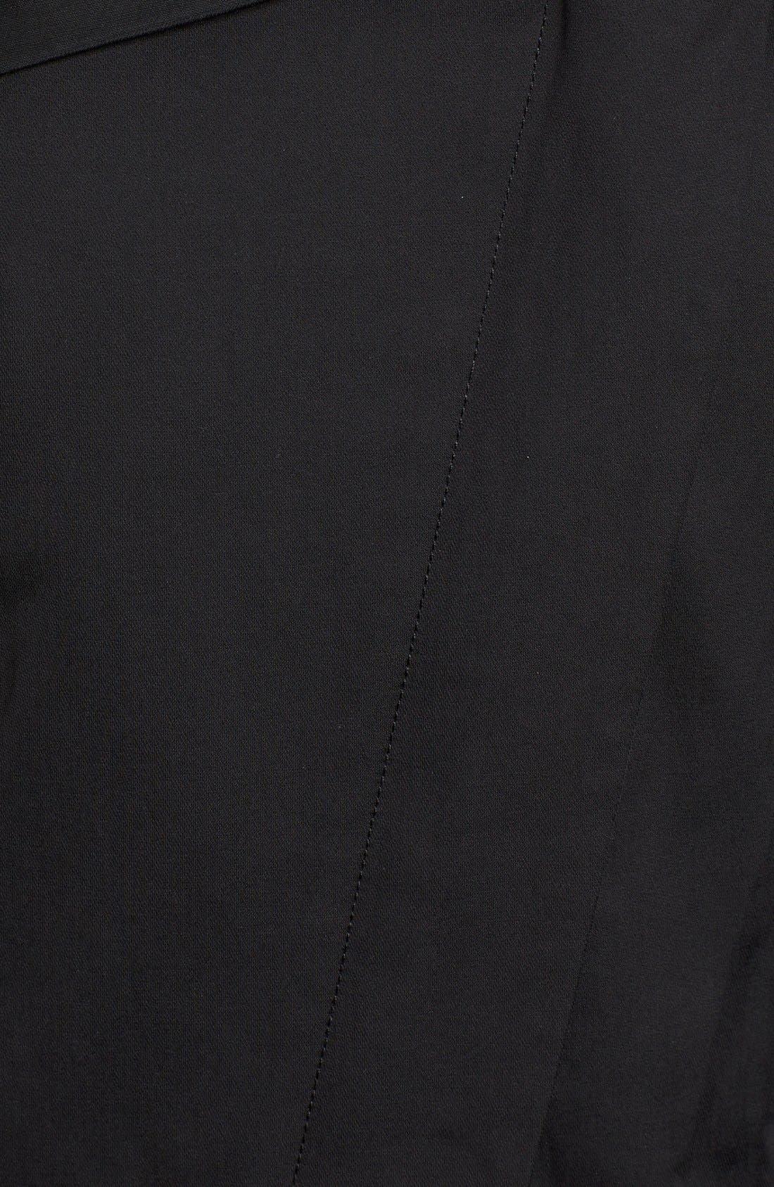 Alternate Image 5  - Rudsak Asymmetrical Mixed Media Long Coat