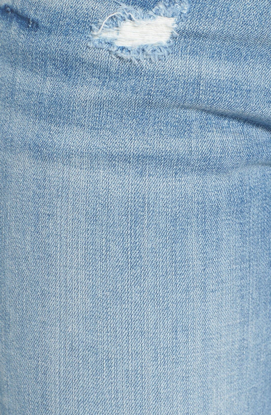 Alternate Image 5  - Vigoss 'Tomboy 'Thompson' Distressed Boyfriend Jeans