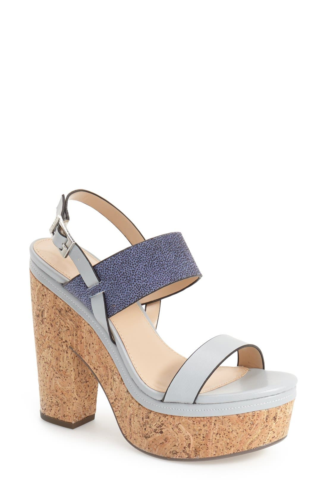 Alternate Image 1 Selected - Charles by Charles David 'Jangle' Platform Sandal (Women)