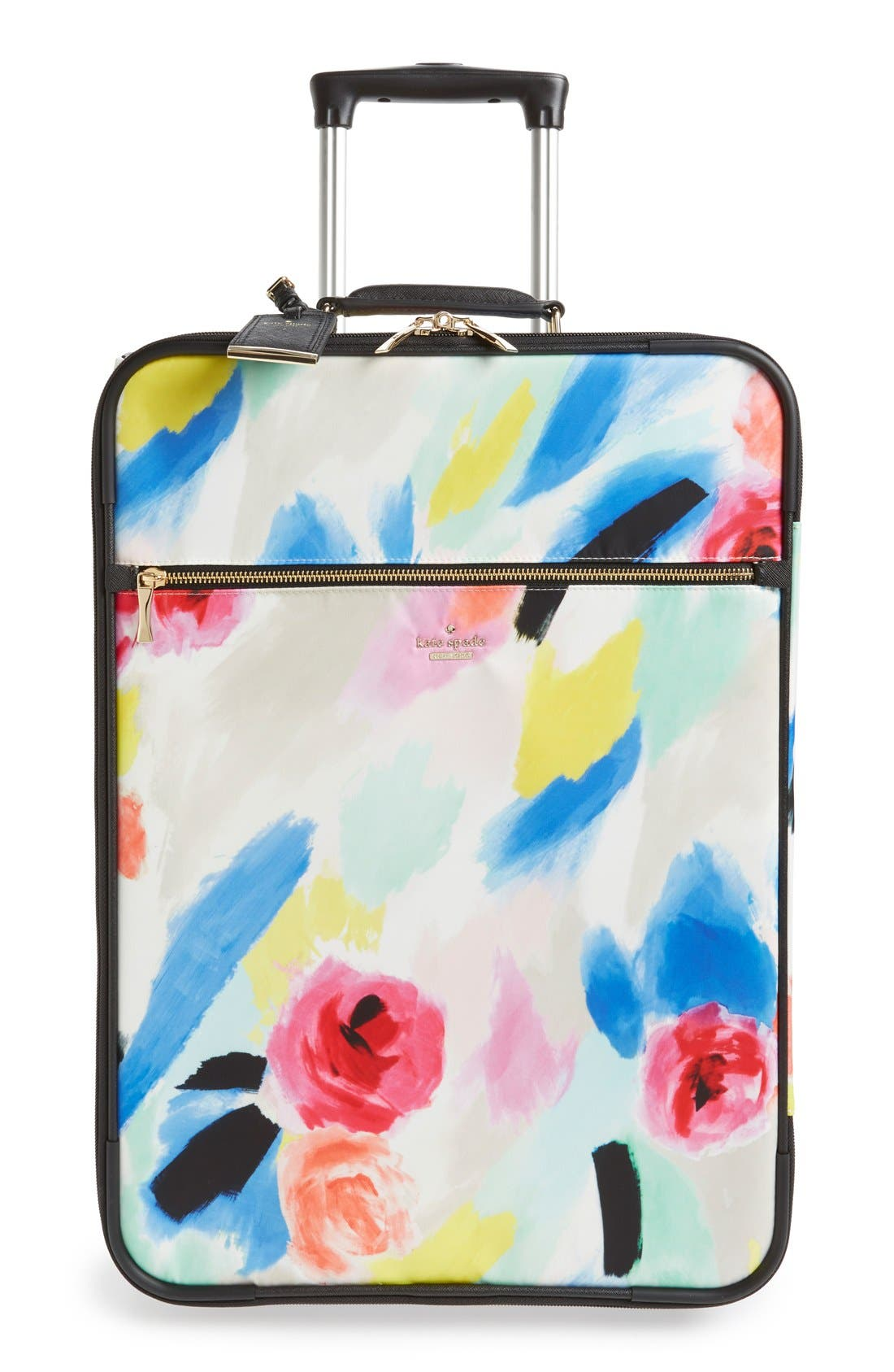 Main Image - kate spade new york 'classic' nylon international two-wheel carry-on suitcase (20 inch)