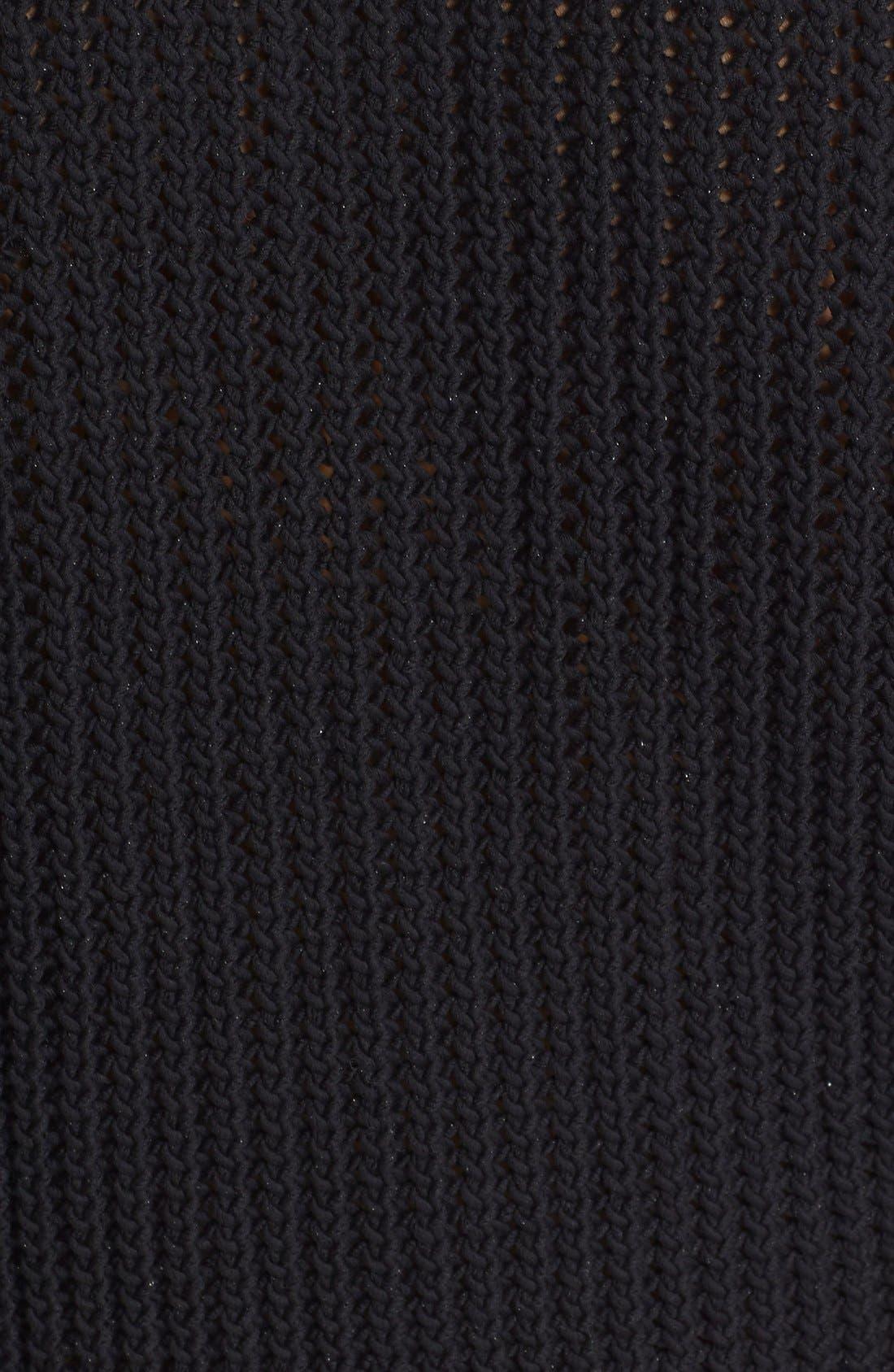 Alternate Image 5  - 3.1 Phillip Lim Open Stitch Crop Sweater