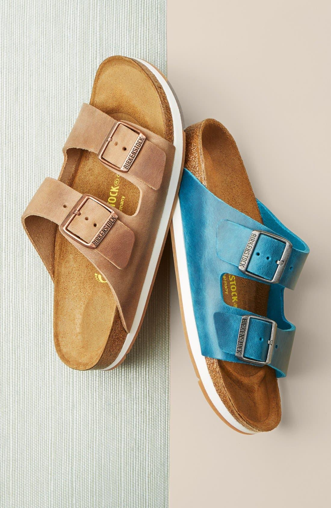 Alternate Image 5  - Birkenstock 'Arizona' Soft Footbed Sandal (Women)