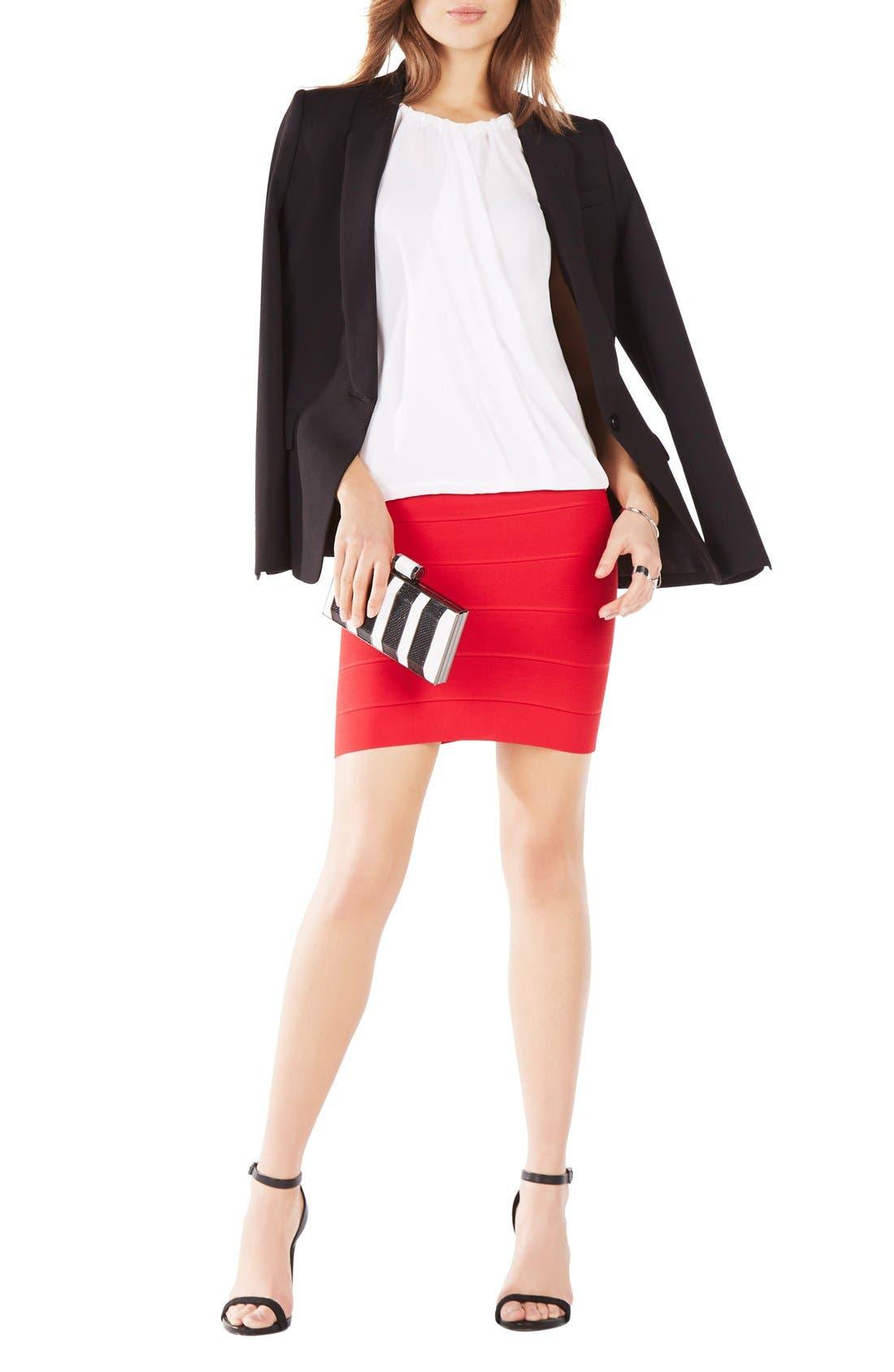 Alternate Image 3  - BCBGMAXAZRIA 'Simone' Bandage Knit Pencil Skirt