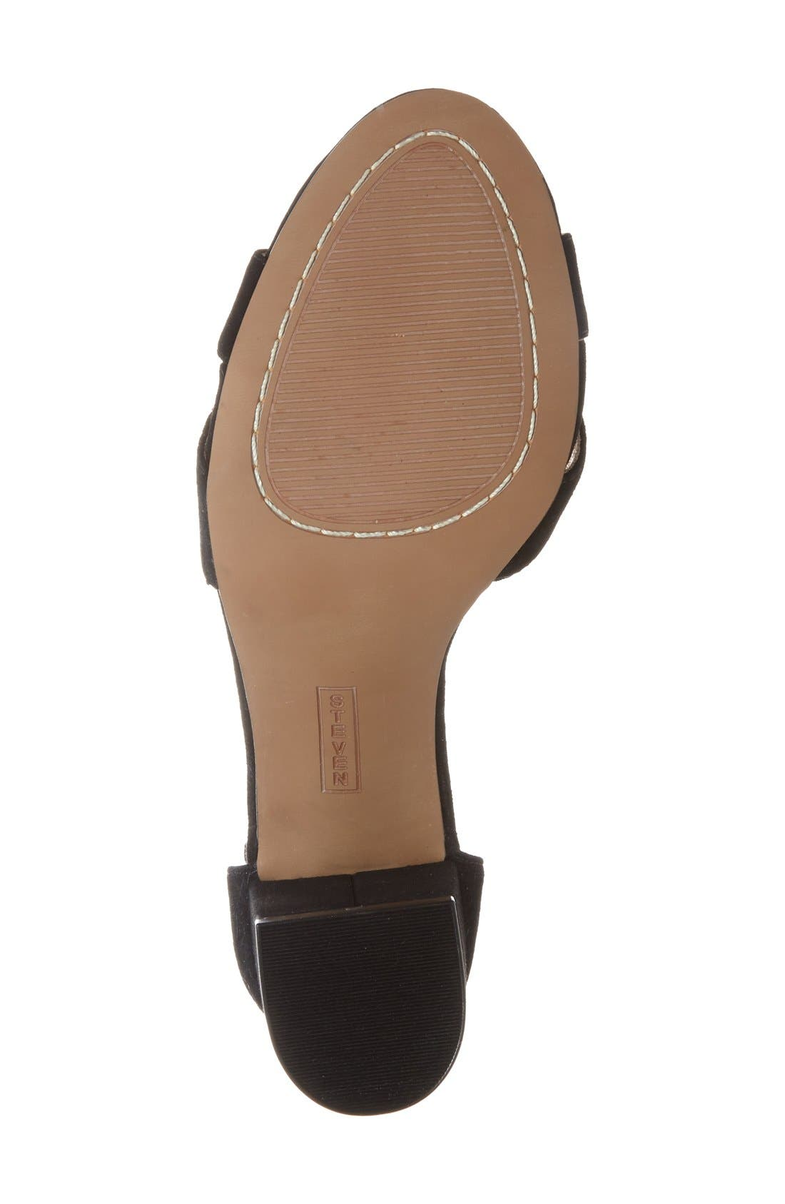 Alternate Image 4  - Steven by Steve Madden 'Voomme' Ankle Strap Sandal (Women)