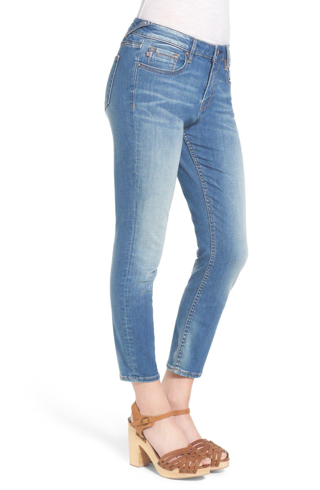 Alternate Image 3  - Vigoss Crop High Rise Jeans