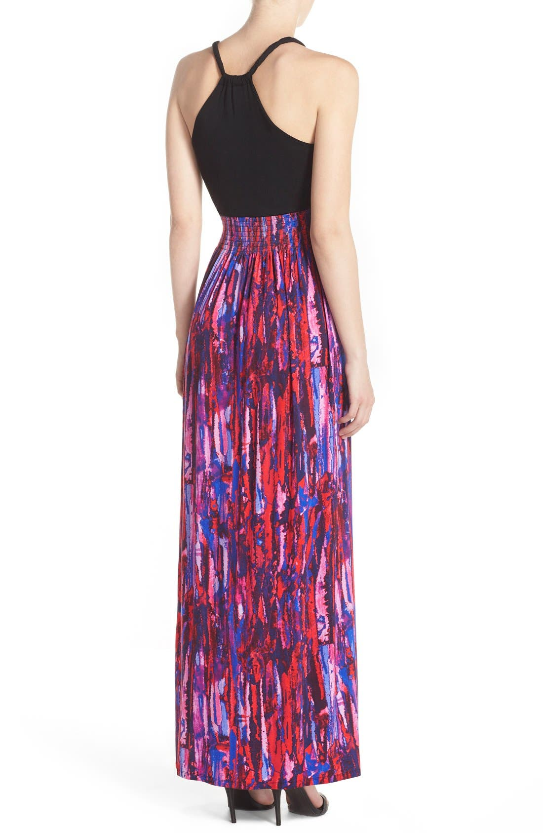 Alternate Image 2  - Felicity & Coco Printed Maxi Dress (Regular & Petite) (Nordstrom Exclusive)