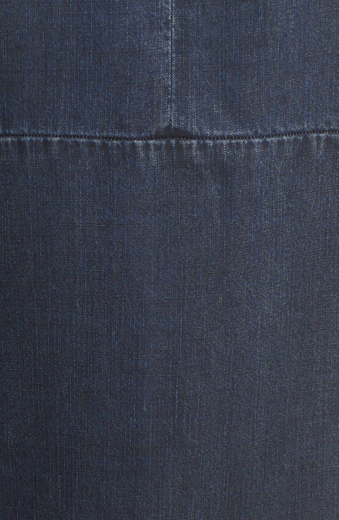 Alternate Image 5  - NIC+ZOE A-Line Denim Shift Dress (Regular & Petite)