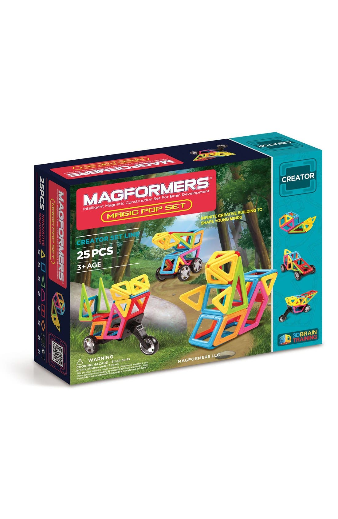 MAGFORMERS 'Creator - Magic Pop' Magnetic 3D Construction