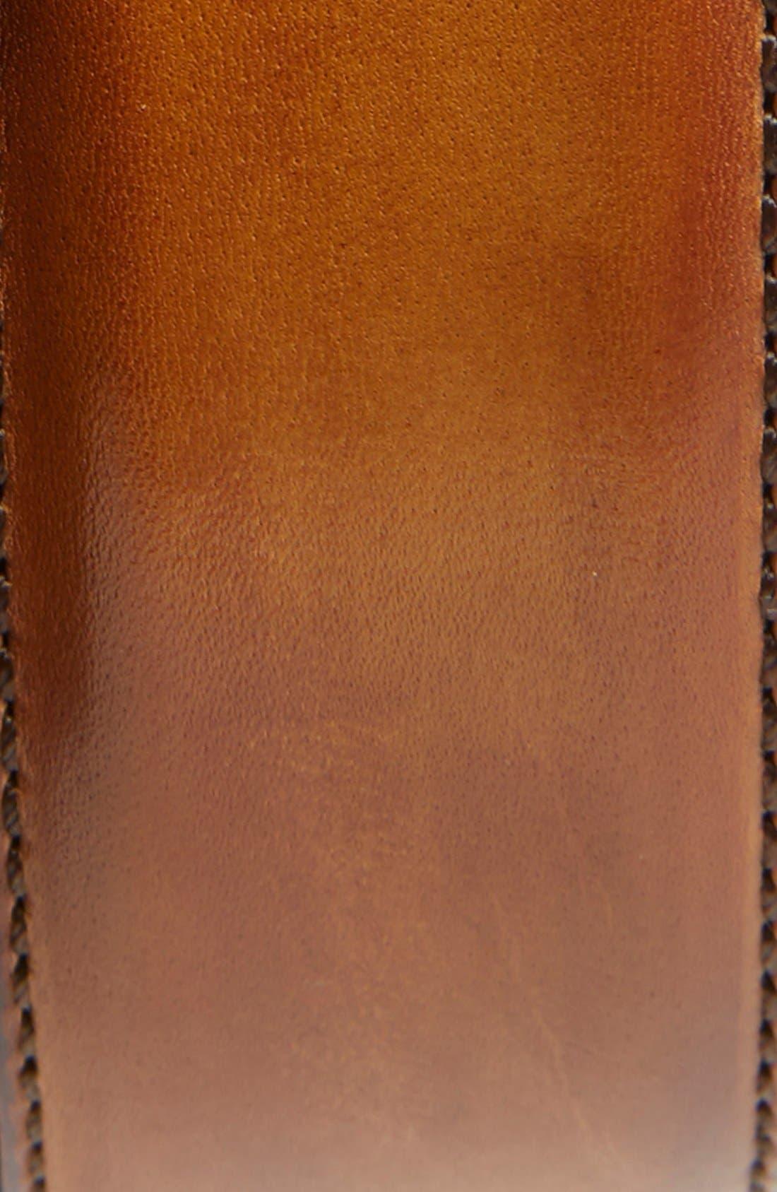 Alternate Image 2  - Magnanni Catalux Leather Belt