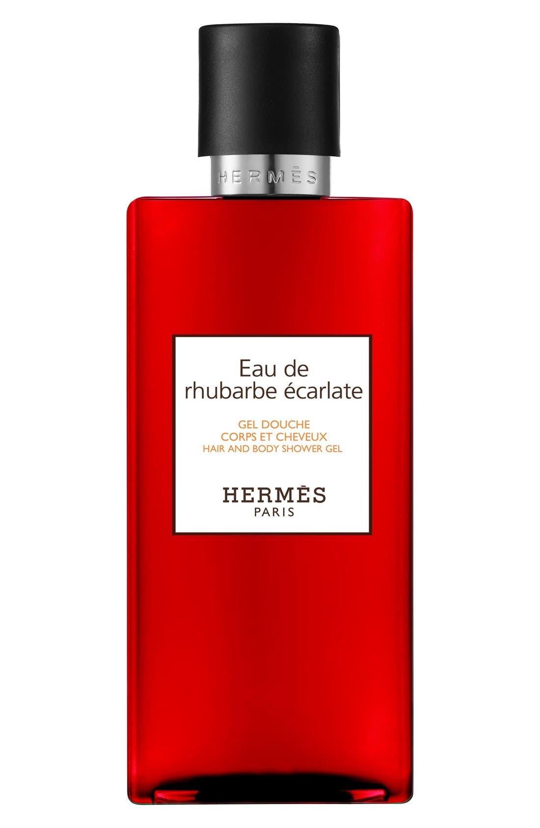 Hermès Eau de Rhubarbe Écarlate - Perfumed Bath and Shower Gel