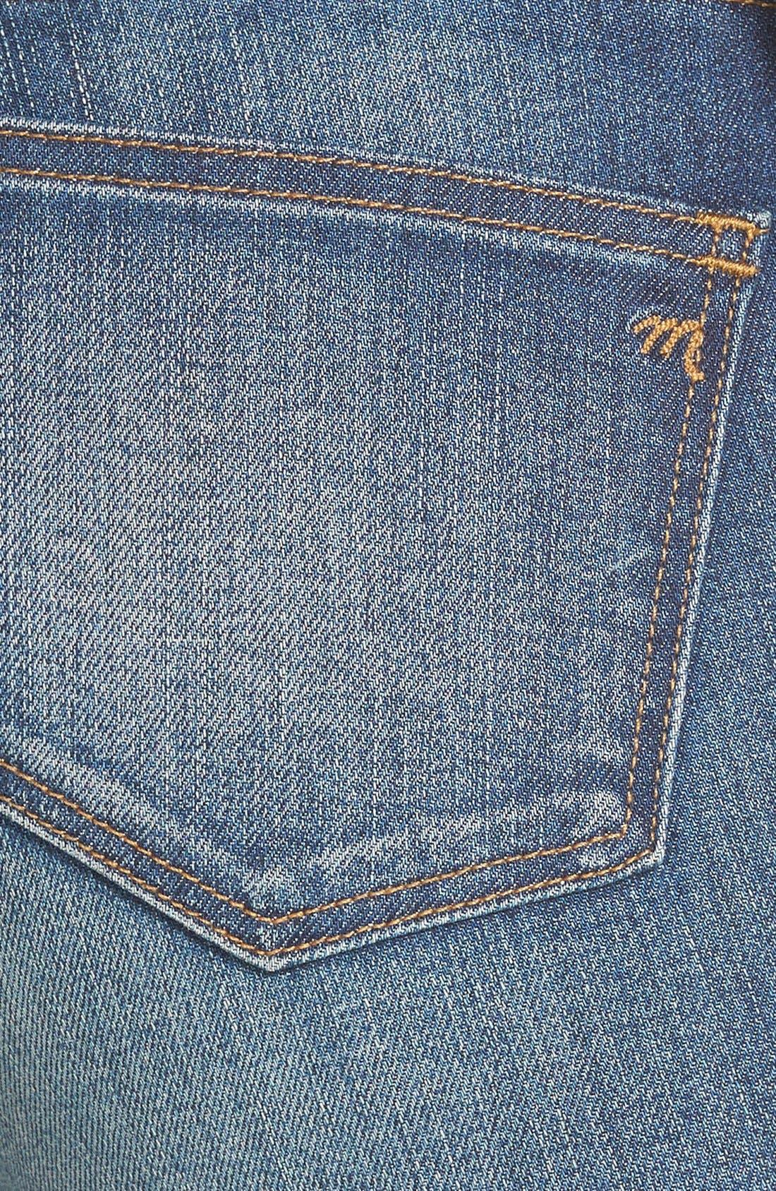 Alternate Image 3  - Madewell 'Skinny Skinny - Taller' Jeans (Edmonton Wash) (Long)