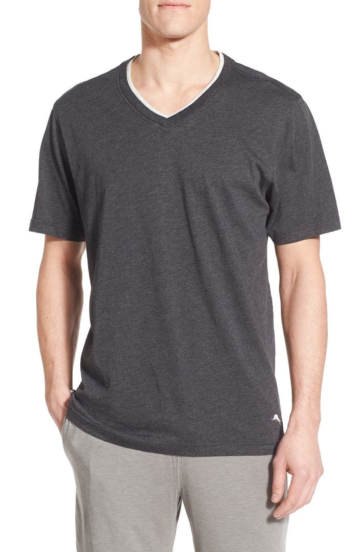 Tommy bahama v neck t shirt tall nordstrom for Tall v neck t shirts