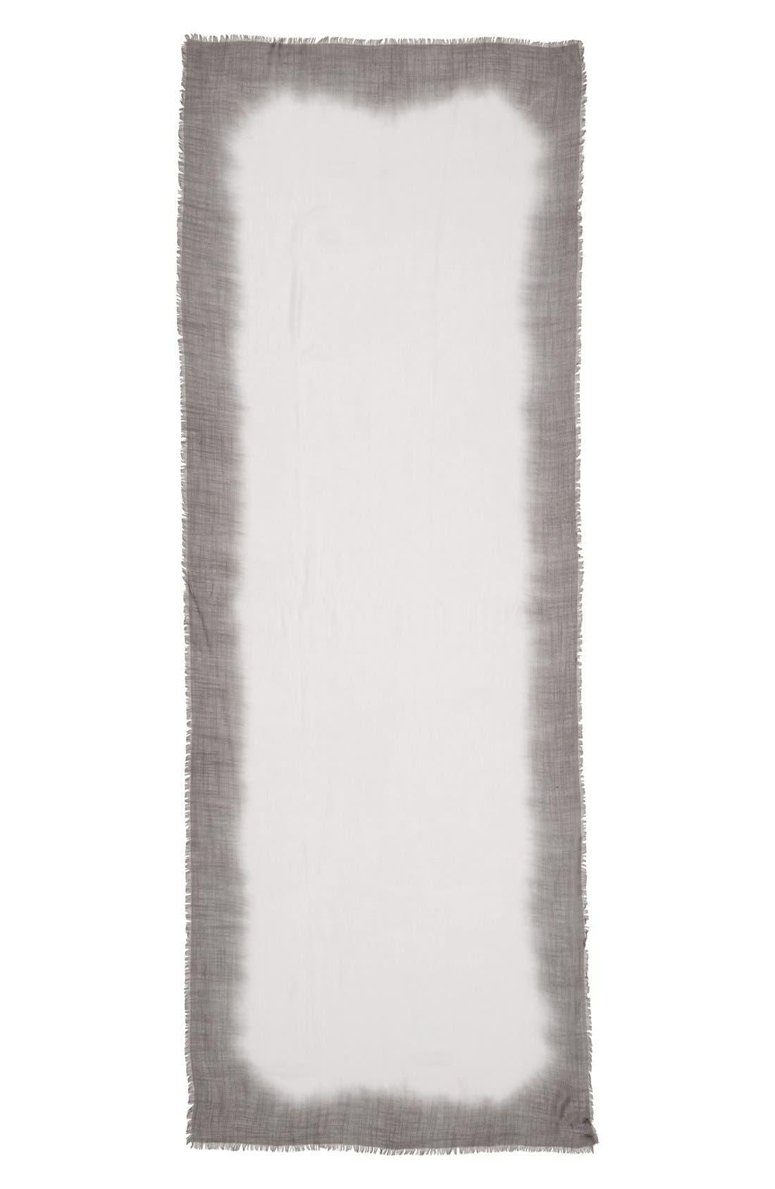 Alternate Image 2  - Nordstrom Dip Dye Wrap Scarf