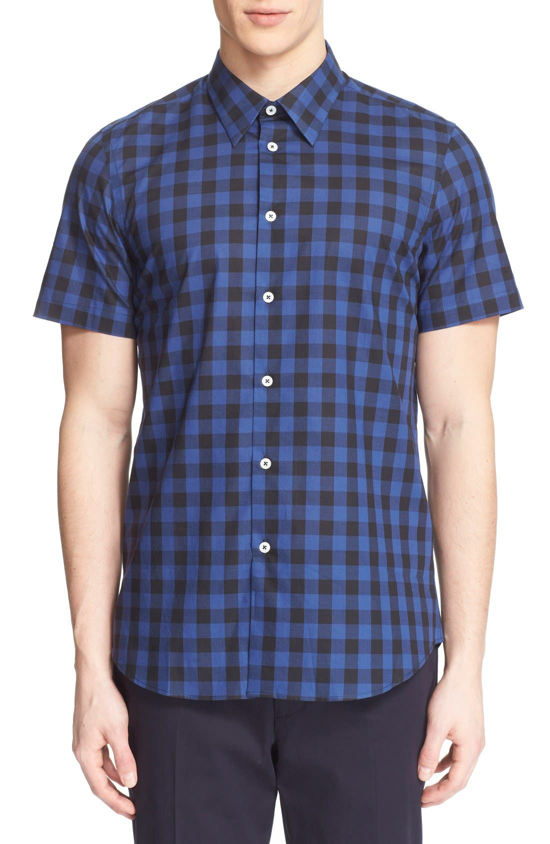PS PAUL SMITH Extra Trim Fit Plaid Short