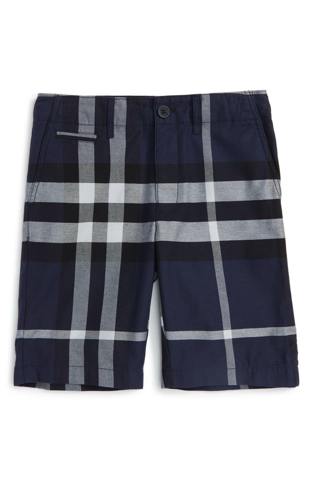 Burberry 'Tristen' Check Pattern Shorts (Little Boys & Big Boys)