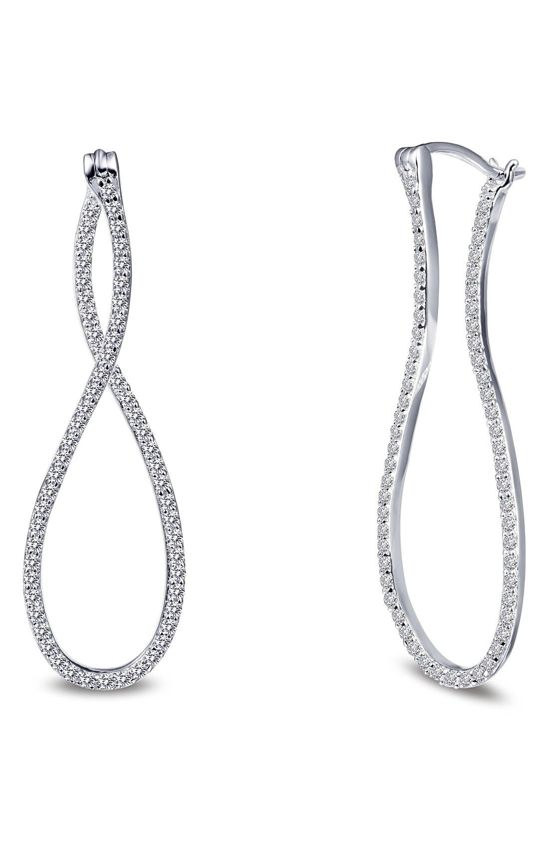 Lafonn 'Lassaire' Infinity Drop Earrings
