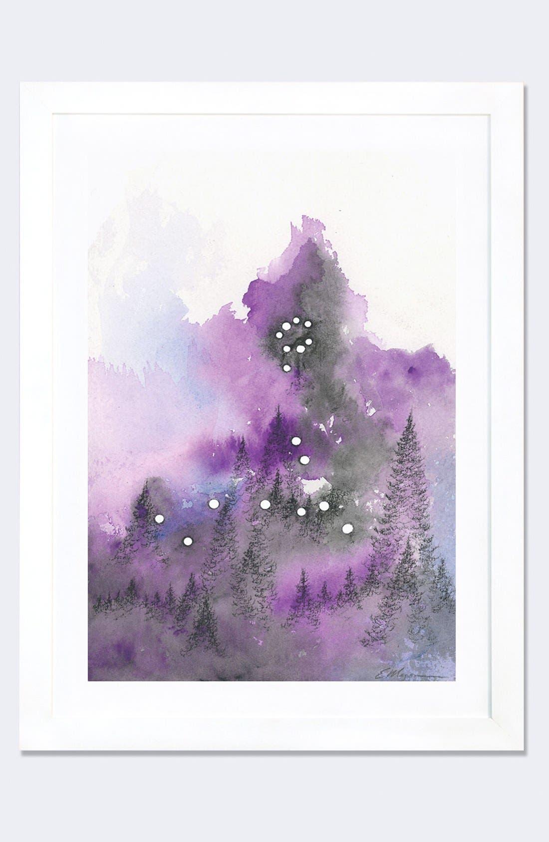 iCanvas 'Pisces' Framed Fine Art Print