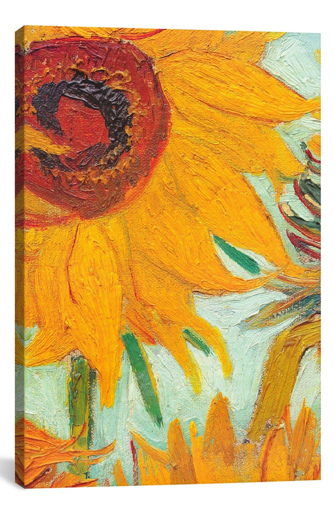 ICANVAS 'Twelve Sunflowers (Detail) - Vincent van Gogh'